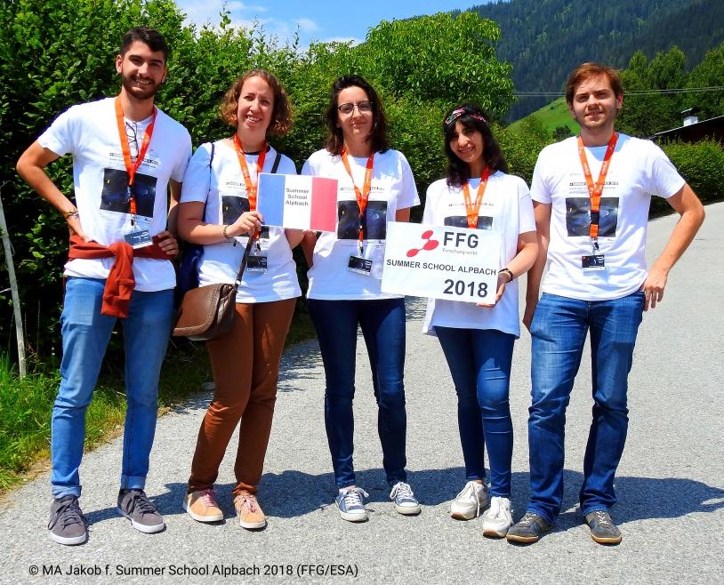 Equipe de France Alpbach 2018